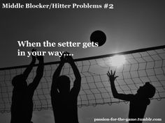 Middle Blocker/ Hitter Problems #2