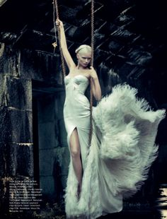 fashion editorial featuring abbey lee