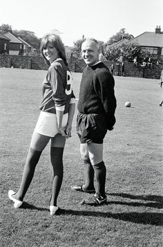 """Manager William """"Bill"""" Shankly (Liverpool FC, and Cilla Black Liverpool History, Liverpool Home, Liverpool Fans, Liverpool Football Club, Football Icon, Best Football Team, Football Fans, Retro Football"""