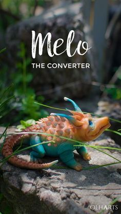 Dragon Melo the Converter, Figurine of Polymer Clay, Lizard from «Valerian and the City of a Thousand Planets» Movie, Fantastic Toy, Fantasy Creature #polymerclay, #Melotheconverter, #ValerianMovie, #Creature, #lizard, #dinosaur, #handmade, #dragon