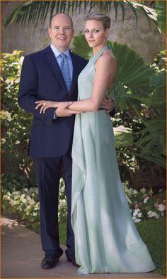 Albert & Charlene of Monaco - engaged