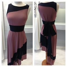 asymmetric salsa dress with black belt