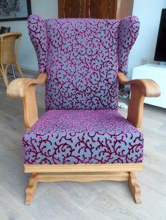oude stoel oppimpen heerlijk!