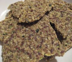 Rawfully Tempting™: Walnut Hemp Crackers  2 1/2  c walnuts soaked 1hr 2 1/2 c cubed zucchini 1/2  c ground golden flax seed  1/4  c  hemp seed 2 tsp sea salt