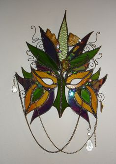 Stained Glass Maskby *HiddenYume-stock (deviantart)