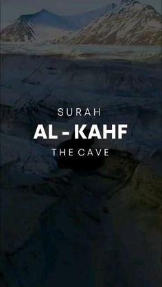 Surah Al Quran, Surah Kahf, Quran Tilawat, Muslim Quran, Quran Book, Best Islamic Quotes, Quran Quotes Love, Quran Quotes Inspirational, Muslim Quotes