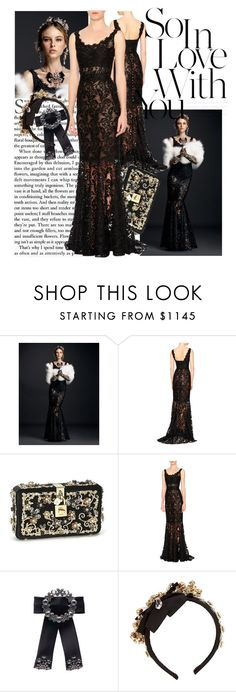 """""""Untitled #54"""" by albalooii ❤ liked on Polyvore featuring Dolce&Gabbana"""