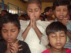 children praying - Bing Images
