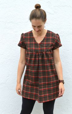 Zsalya Dress from Perfect Pattern Parcel | Pattern by Kate and Rose, made by Melissa Q. at  A Happy Stitch