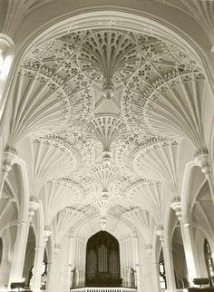 Celestial ceiling.