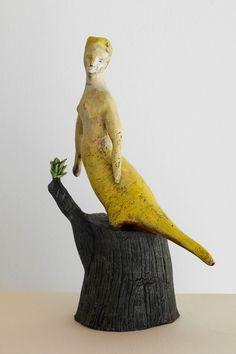 Birdwoman B Smith Ceramics by Bonnie Marie Smith.