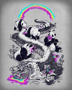 Pandas kicking @ss