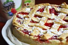 Strawberry Rebarbarious Pie