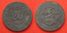 1916-1924 Zell im Wiesental (Baden) Germany ZELL IM WIESENTAL 20 Pfennig ND…