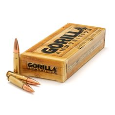 300 AAC BlackOut, 147gr FMJ - 20 Round Box  Gorilla Ammunition 300 Blackout 147gr FMJ. We've got a limited supply of 300 Blackout 147gr FMJ packed in 20rd boxes. It's made with Remanufactured Brass and Factory New Bullets. This deal is like food stamps for your AR. Feed it!   http://www.gorillaammo.com/300-aac-blackout-147gr-fmj-20-round-remanufactured