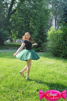 Spódnica z koła, podszewka bawełniana, 4 warstwy tiulu. Princess dress