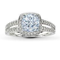 Exquisite round diamonds frame the center and line the sides of this beautiful Scott Kay ring setting. The fine jewelry diamond ring has a total diamond weight of carat and is crafted in lush white gold. The center diamond is sold separately. Engagement Ring Jewelers, Jared Engagement Rings, Engagement Ring Pictures, Engagement Ring Settings, Halo Engagement, Big Wedding Rings, Wedding Rings For Women, Wedding Bands, Wedding Jewelry