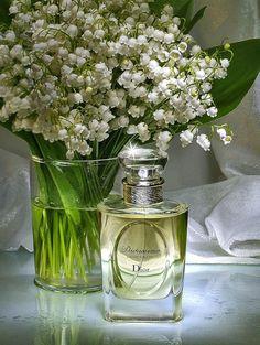 2 favorieten:lelietje en eau de parfum Diorissimo