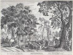 """Autumnus"", A. Jacobsz. Stock naar David Vinckboons  1618"