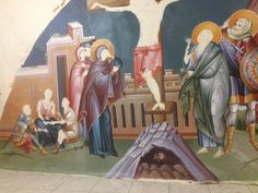 Iconographer Dimitris Maniatis – icoana Byzantine Icons, Mai, Vignettes, Blog, Painting, Amazing, Pintura, Painting Art, Blogging