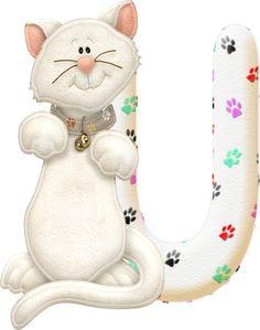 Alfabeto con gatito.U.png (324×411)
