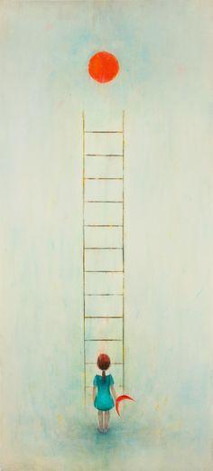 fredri krattzen:  AmbitionGouache, Watercolor, Graphite and Pastels on paper