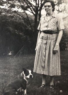 1953 Vintage Dog Photo Woman with Boston Terrier Skippy Brindle Boston Terrier, Red Boston Terriers, Boston Pictures, Celebrity Dogs, Terrier Breeds, Cairns, Dog Photos, Norfolk