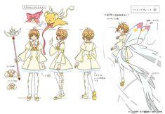 Cardcaptor Sakura Clear Card : Les costumes de Sakura !