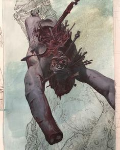 Comic Books Art, Comic Art, Riccardo Federici, Scary Tales, Satanic Art, Sci Fi Art, Horror Art, Skull Art, Storyboard
