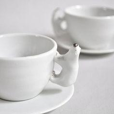 Polar Bear Cup and Saucer