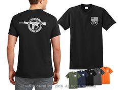 2nd Amendment T shirt - 1789 original homeland security gun rights tee shirt    eBay
