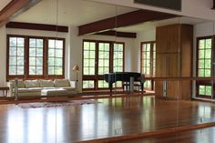 In home dance studio & multi-purpose room! Need it, want it, gotta have it! #dreamhome