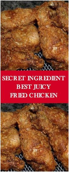 Secret Ingredient Best Juicy Fried Chicken