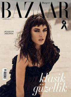 #JacquelynJablonski by #RiccardoVimercati for the cover of #HarpersBazaarTurkey June 2014