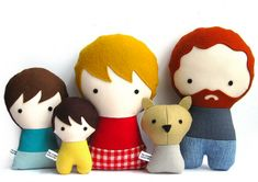 The Citizens Collectible handmade and personalized dolls via designperbambini.it