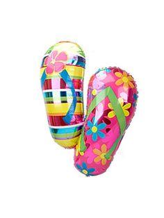 4c8c5ce4f Flip Flop Balloon - Giant Balloon Flip Flops http   www.birthdayinabox. Luau  BirthdayBirthday BalloonsBirthday Party ...