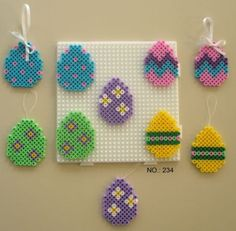 Easter Eggs - Perler Beads