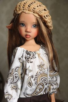 Outfit for Kaye Wiggs MSD Laryssa Pants Blouse Corset Beret Leggins Top   eBay