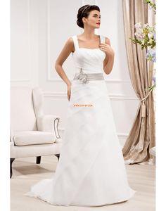 3cd180396070 Délka dvorní Šerpy   Stuhy Zip Svatební šaty 2014 Princess Wedding Dresses