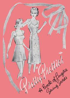 Pretty Pretties: vintage lingerie embellishments