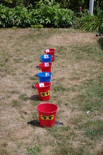 buckets for party favors? Lego Ninjago, Ninjago Party, Ninjago Games, Ninja Birthday Parties, Birthday Party Games, Birthday Fun, Birthday Ideas, Festa Ninja Go, Craft Party