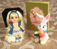 Alice in Wonderliddle - Little Kiddle by MATTEL, With Book