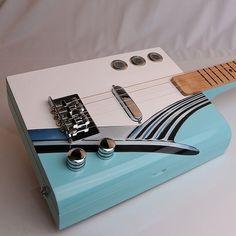 Beautiful Finely Crafted Cigar Box Guitar by EldridgeCBGuitars