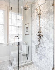 Love the look of the shower head.