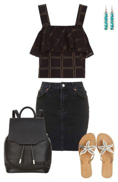"""""""Untitled #1010"""" by julz28520 ❤ liked on Polyvore featuring Topshop, ace & jig, ASPIGA and rag & bone"""