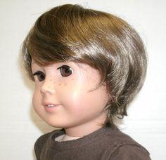 Boy Doll Wig for American Girl 18 Inch Doll by TwiceLovedDolls