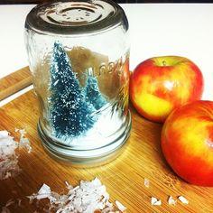 in a Mason jar....
