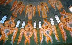 Τι είναι οι τα Σεραφίμ,Χερουβίμ; Ποιές και πόσες είναι οι «Αγγελικές Δυνάμεις»; Order Of Angels, Angel Hierarchy, Ant Crafts, Workout For Flat Stomach, Byzantine, Cherub, Kai, Religion, Images