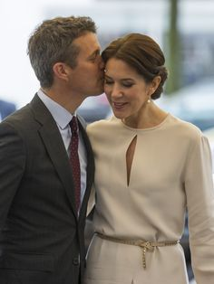 Crown Prince Frederik and Crown Princess Mary of Denmark attended the opening ceremony of the business delegation's programme on May 21, 2015 in Munich, Germany.