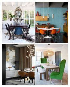 Dining rooms are a place for celebrations with friends and family. Which of these rooms captures that spirit best?
